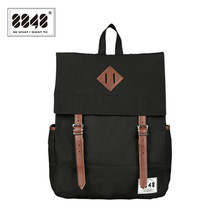 Black Unisex Backpack Resistant Oxford High Quality Knapsack Fashion European American Style Best Wholesale Retail Bag D002-3(China)