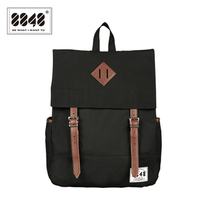 Black Unisex Backpack Resistant Oxford High Quality Knapsack Fashion European American Style Best Wholesale Retail Bag D002-3<br>