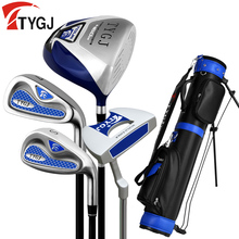 Brand TTYGJ 4-pieces Half Golf Clubs Set with Bag Men's Leaner Beginner golf clubs branded golf irons set