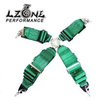 LZONE - KATA Style Seat Belt with 4pcs FIA 2018 Homologation /Harness/Racing Satefy Seat Belt/width:3 inches/4Point JR-SB31(China)