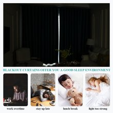 NICETOWN Solid Color Thermal Insulated Blackout Curtain With Grommet Top For Living Room Drapes For Bedroom Window Curtain