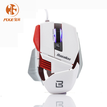Optical Computer Mouse 6 Buttons USB Wired Gaming Mouse X1 Notebook Mice Internet Creativity Computer for Pro Gamer(China)