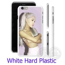 Ariana Grande Focus White Phone Case for iPhone 5S 5 SE 5C 4 4S 6 6S 7 Plus Cover ( Soft TPU / Hard Plastic for Choice )