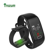 TROZUM K18S smart bracelet with Blood O2 wristband Heart Rate Fitness Tracker Monitor Bluetooth Watch For iOS Android as JW018(China)