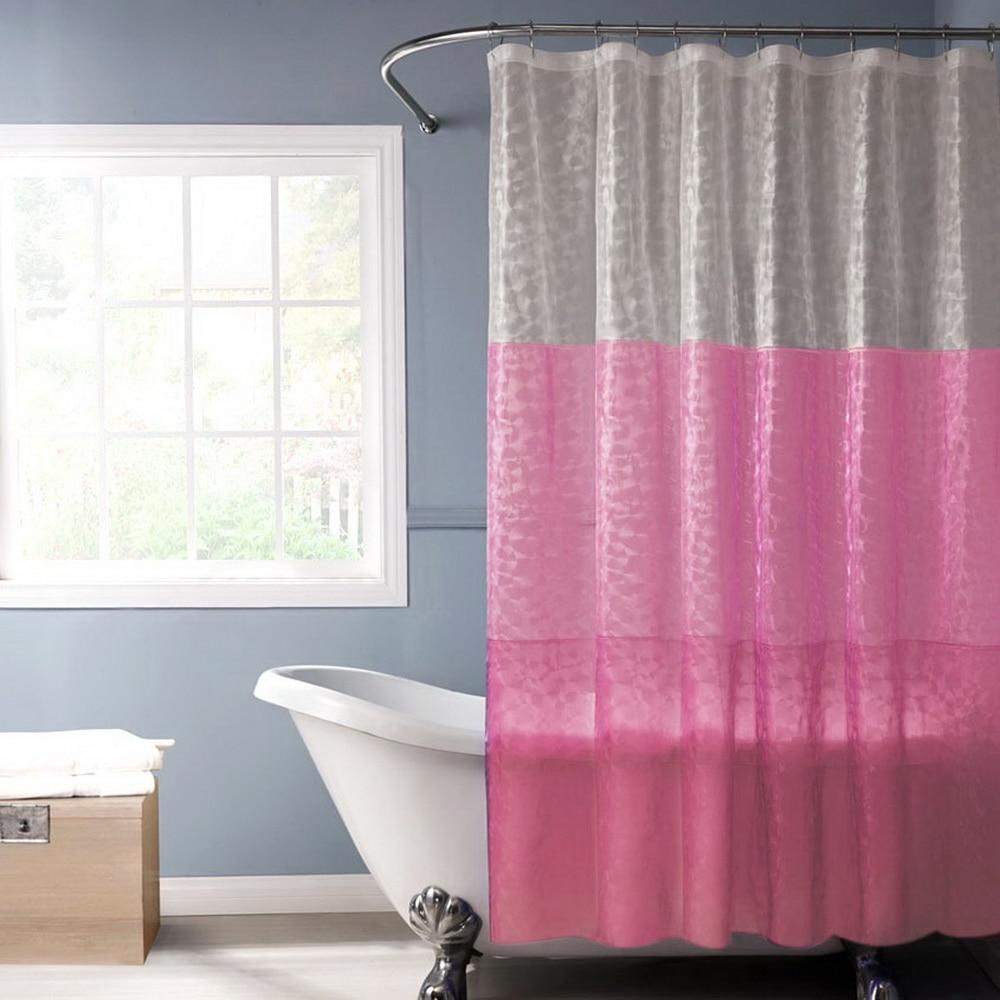 Birds On Plum Trees Waterproof Fabric Shower Curtain Bathroom 71Inch