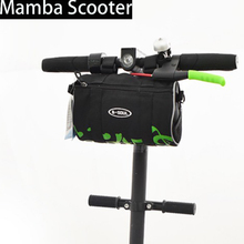 Scooter Hanging Bag Skateboard Head Handle Bag Front Charger Tools Storage Carrying Bag for Xiaomi Mijia M365 Electric Scooter