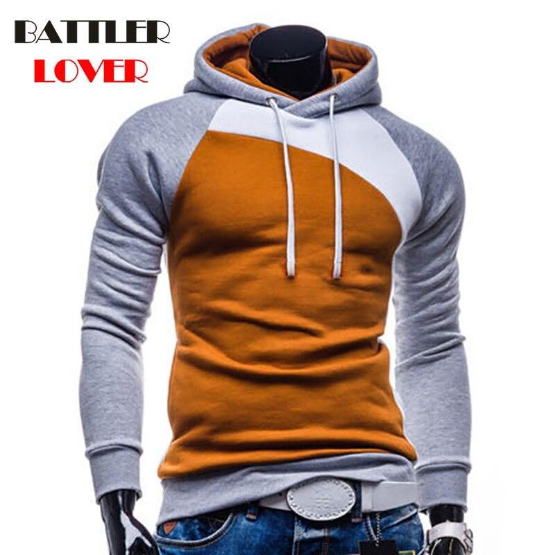2018 Hoodies Men Hooded Sweatshirt Mens Patchwork Hoody Hoodie Hip Hop Mens Punk Hoodies Jackets Hombre Sweatshirts Tracksuits