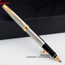 Free Shipping Metal Gold Pen Silver Roller Pen Sonnet Signature Ballpoint Pen Office School Suppliers Fast Writing Stationery