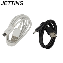 JETTING 1PCS Durable micro USB CHARGER CABLE FOR SAMSUNG GLALXY NOTE 2 S3 S4 Black White Color