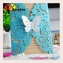 free shipping unique wedding invitation cards greeting cards laser cut invitation cards for wedding decoration