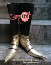 Final Fantasy Vincent Valentine clown style Cosplay Boots shoes shoe boot  #NC117  anime Halloween Christmas