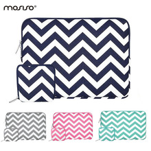 MOSISO Canvas Designer 11.6 13.3 15.6 inch Sleeve Cover Laptop Case Bag For Macbook Air/Pro/Asus/HP Notebook Computer Bag Female