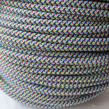 10 meters 2 core 0.75mm2  fabric braided electrical wire for pendant lamp textile cable cloth covered wire