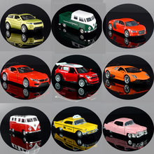 1:34 Alloy Model DIE-CAST Pull Back Car Pull Back Diecast Vehicle Model Toy Mini  Metal Toy Car Set Collection Gift For Kids