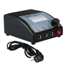 LCD Display Double Output Digital Tattoo Power Supply For Tattoo Machine Speed Control LED Light EU Plug