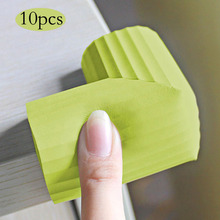 10 pcs child Safe Edge and Corner Cushion,Home Furniture Safety Bumper, Baby Proof Table Protector protection from children(China)