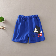 2017 Casual Cotton mickey shorts children boy Shorts girls Summer Beach Shorts baby boy clothes for  2-7years kids boy clothing
