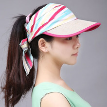 New Women Girls Summer Visor Empty Top Sun Hat Ladies Sports Tennis Beach Hat Golf Outdoor Casual Visor Baseball Cap Camouflage