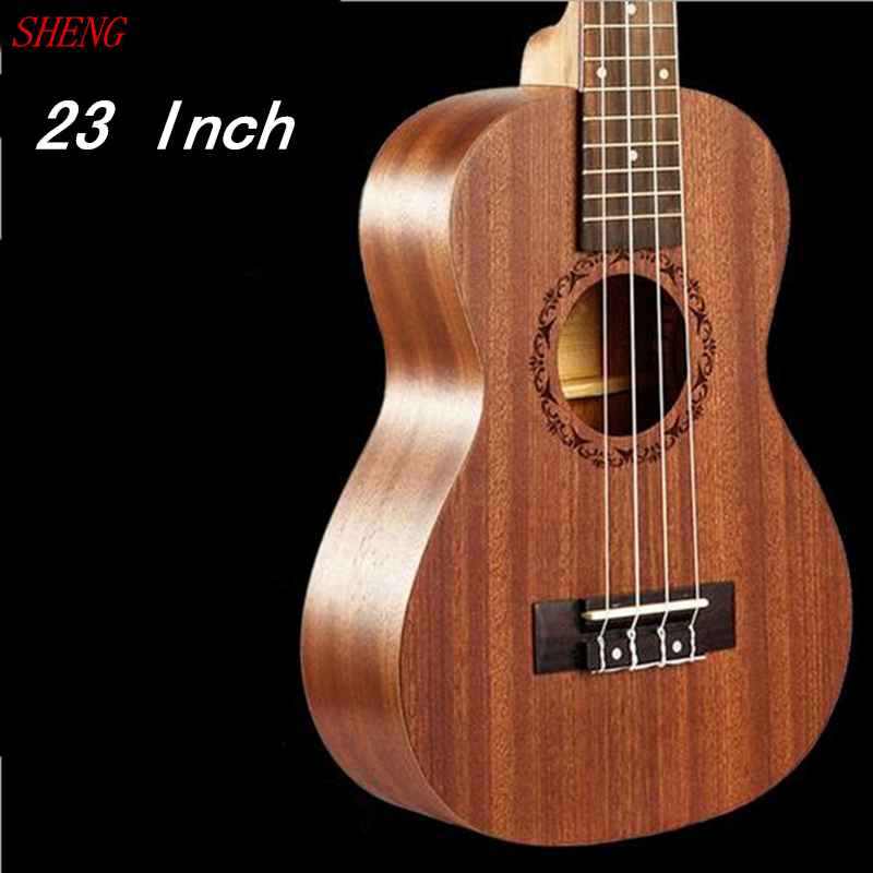 High Quality Ukulele Four Strings 17 Fret Hawaiian Guitar 23 inch 61cm Ukelele Chibson Acoustic guitar Rosewood Fingerboard<br><br>Aliexpress