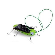 Solar Power Energy Crazy Grasshopper Cricket Kit Toy  High Quality