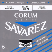Savarez Classical Guitar Strings Carbon Fibre Strings For Classical Guitar 500AR 500AJ Strings Guitar Parts