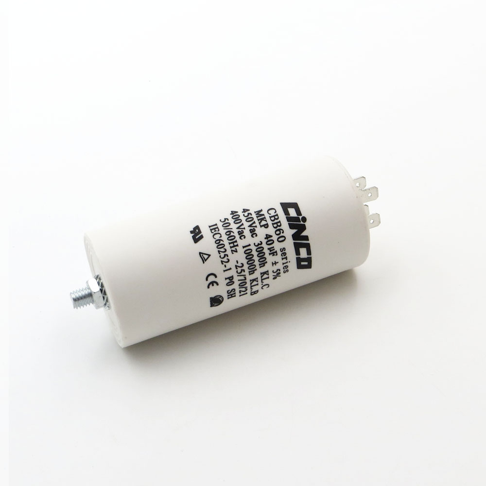 mfd 400v 500v Capacitor Universal Start Motor 40uF 40
