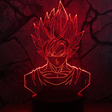 Limited Superheroled Led Gift Ideas Bulbs Birthday Dragon Ball Kung Fu Cartoon Action Figures 3d Lamp Night Light Child Kid Toy(China)