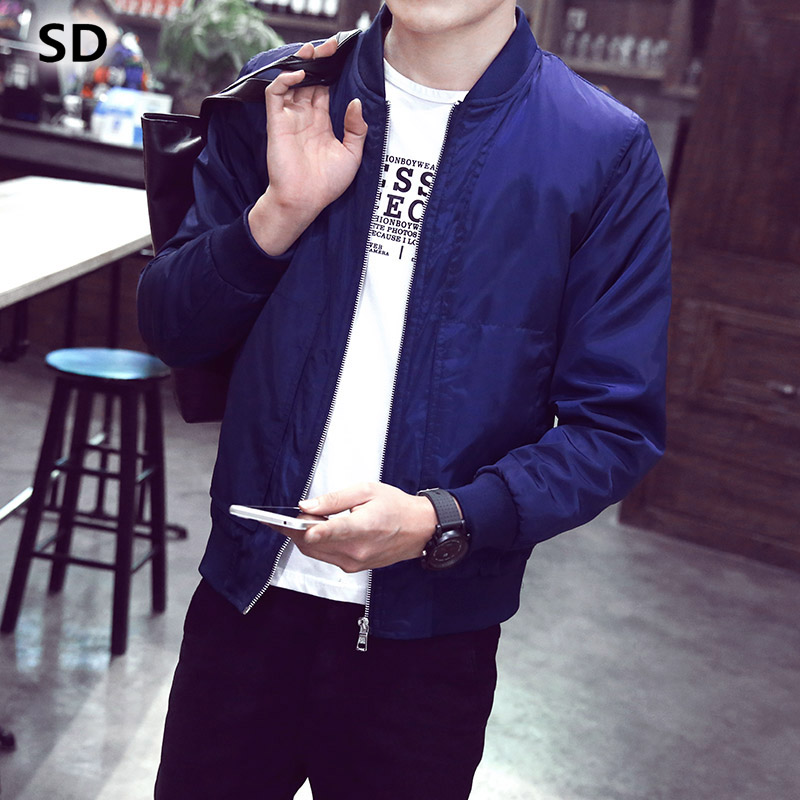 SD Men's Jackets 2018 Fashion Casual Business Coat Warm Windproof Jacket Men brand-clothing Coat Plus Size Chaqueta Hombre 242
