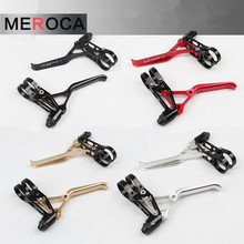 MTB Mountain Folding Road Small Bike bicycle Ultra light V Brake Hand levers CNC 64g