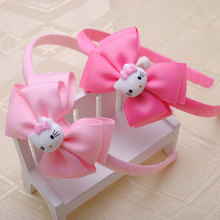1piece hello kitty Headwear 4 Colors Hair Accessories Cute Cat Band Small Cat Headband for Children Kitty Styling Tools Headwear