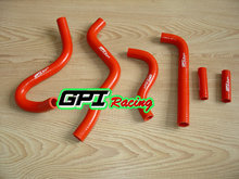 silicone radiator hose FOR Kawasaki KX250 KX 250 1999 2000 2001 2002 99 00 01 02 RED