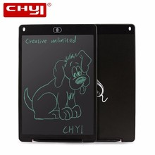 "CHUYI 12 Inch Digital Portable Mini LCD Writing Screen Tablet 12"" Drawing Board + Stylus Pen(China)"