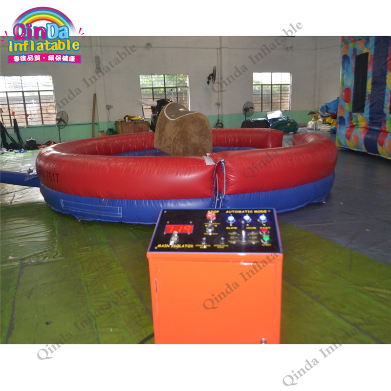 inflatable mechnical bull mat28