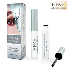 FEG 2pcs 100% Original Chinese Herbal Powerful Makeup Eyelash Growth Treatments Liquid Serum Enhancer Eye Lash Longer Thicker(China)