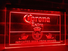 LE040- Corona Mexico Beer Bar Pub Club   LED Neon Light Sign   home decor  crafts