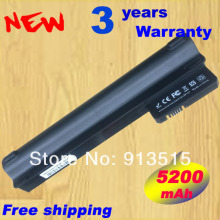 5200mAH battery for Compaq Mini 102 mini 110c CQ10 CQ10-100 for Hp mini 110 mini110 mini110-1000 537626-001 HSTNN-CB0C