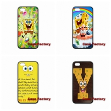 For HTC One X S M7 M8 mini M9 Plus Desire 820 Moto X1 X2 G1 G2 Razr D1 D3 Samsung S2 S3 S4 S5 S6 S7 edge Spongebob Covers Case