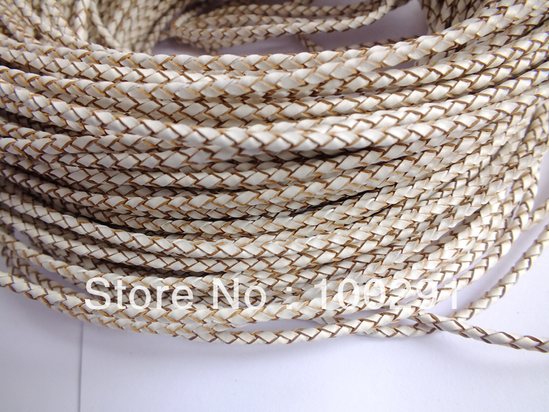 Free shipping !!!  100m/lot necklace braided leather cord string 3mm DIY jewelry accessories X10452