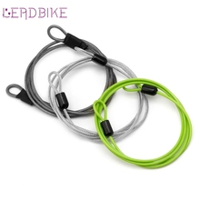 Cable Lock 100cm x 2mm Cycling Sport Security Loop Cable Lock Bicycle Bikes Scooter U-Lock Cable bicycle lock, with good quality
