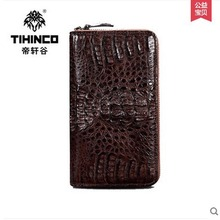 tihinco real Crocodile leather hand bag man luxury leather bag business man male handbags hand caught man bag men clutches