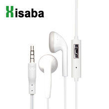 Xisaba Flat ear earbud Earphone Noise Canceling Headset with Microphone Stereo In-Ear for mobile phone iPhone Xiaomi MP3
