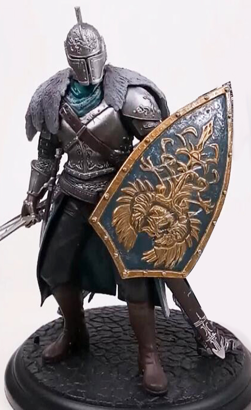 18cm Game Dark Souls Faraam Knight Artorias The Abysswalker PVC Action Figure Collectible Model Toy 2 Styles (6)