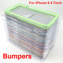 10 color Soft TPU Bumper Frame Case Cover Side protection for iPhone 5 5S SE 6 6Plus 7 7Plus case for Apple iPhone