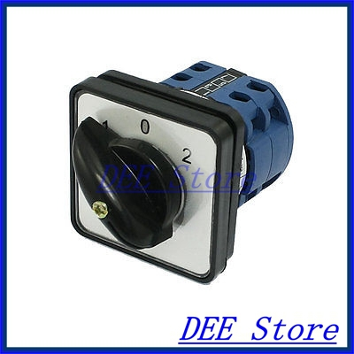 440VAC 240VAC 8 Screw Terminals on-off-on Rotary Combination Switch Kegsk<br><br>Aliexpress