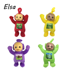 Teletubbies Plush Toys Po Thinky Winky Dipsy Laa Baby Doll For Kids Movies & TV WJ233