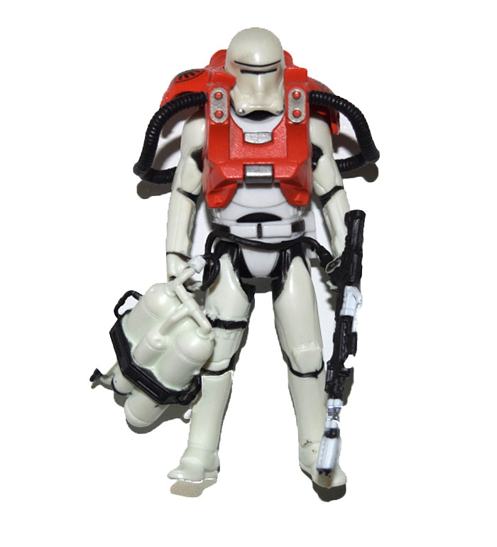 "Star Wars The Force Awakens Armor Up Flametrooper 3.75/"" Loose Action Figure"