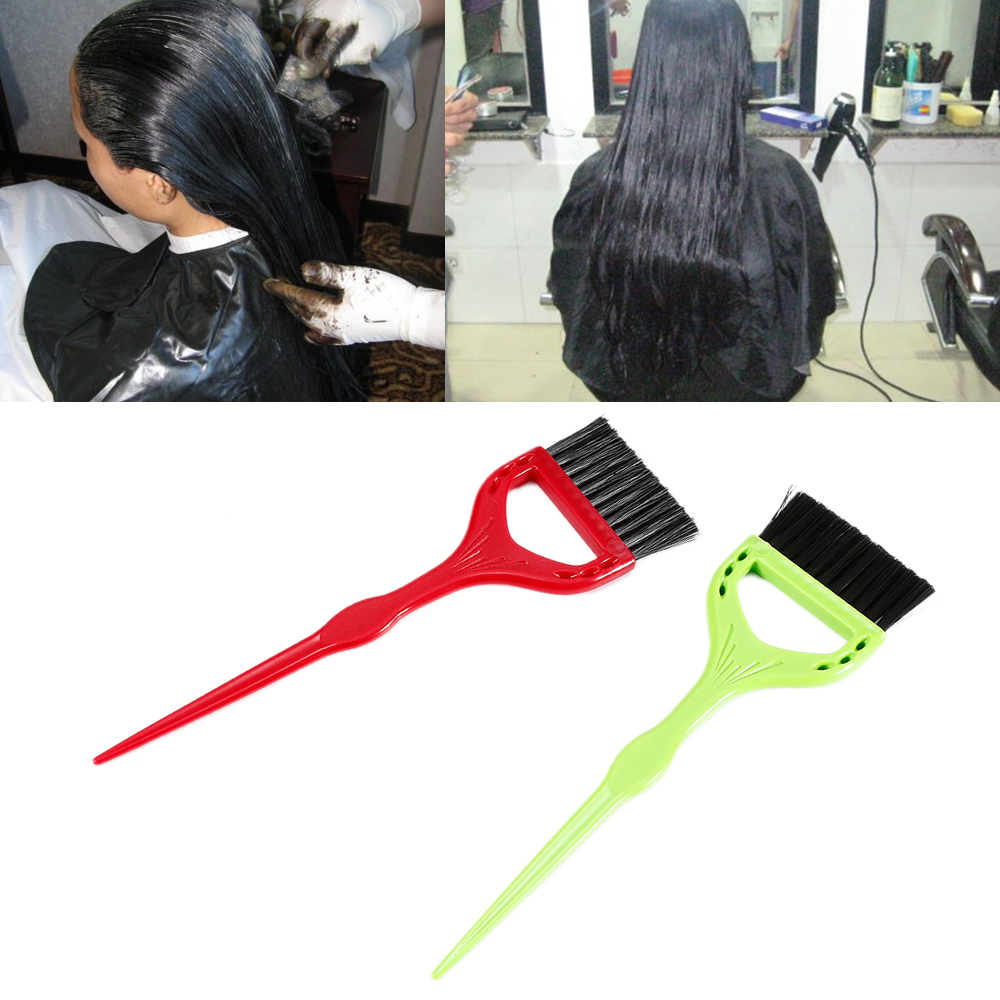 Online coloring tools - High Quality Straight Hair Salon Tools Plastic Comb Color Dye Relax Brushes Hair Color Comb Hairdressing