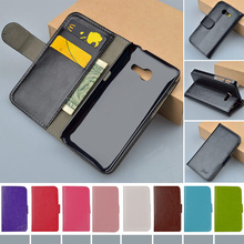 J&R Brand Leather Wallet Case for Asus ZenFone 4 A400CG Flip Cover with ID Card Holder and Stand Function 9 Colors
