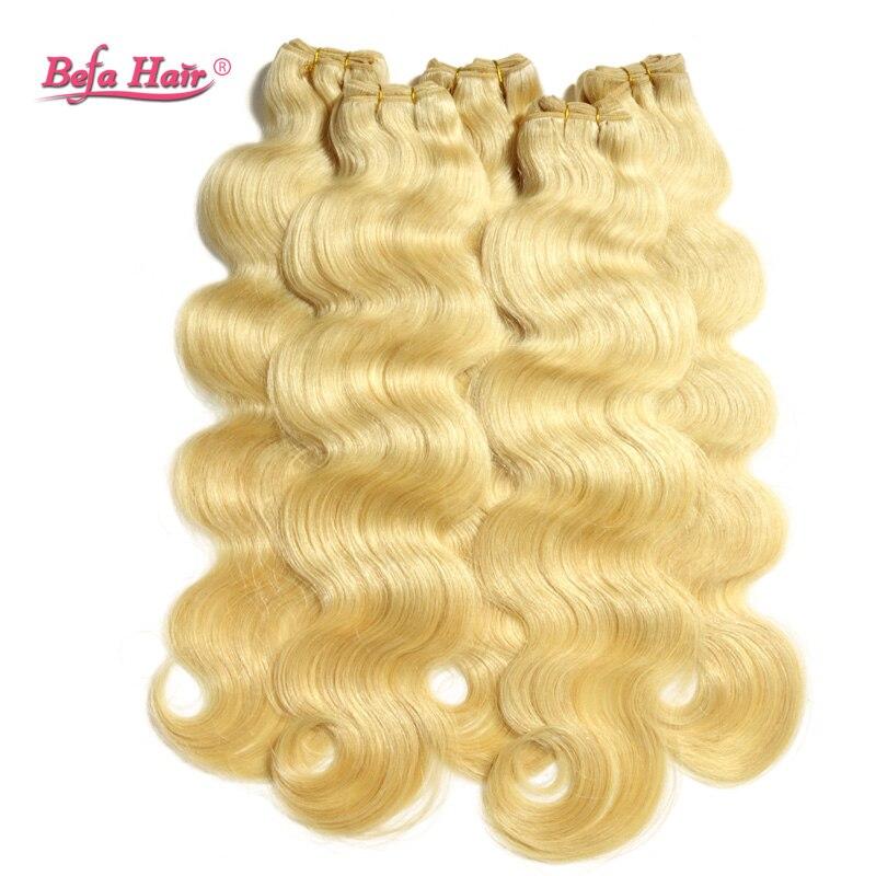 4pcs/lot Grade 6A European human hair weaves 613# color body wave befa hair bundles free shipping<br><br>Aliexpress