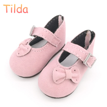 Tilda 6cm Mini Shoes For Paola Reina Doll,Fashion Mini Toy Gym Shoes for MSD 1/4 Bjd Doll Footwear Shoes for Dolls Accessories(China)